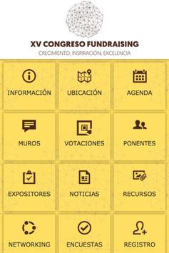 Congreso Fundraising 2015 poster