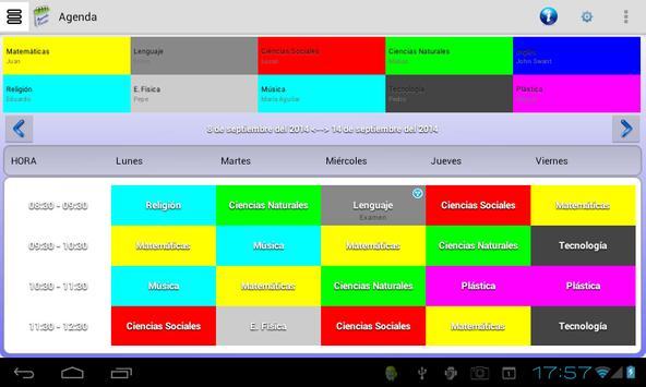 Agenda Escolar screenshot 5