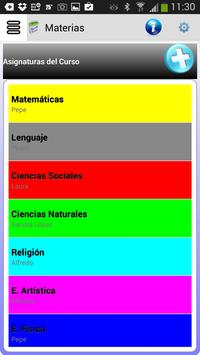 Agenda Escolar screenshot 1