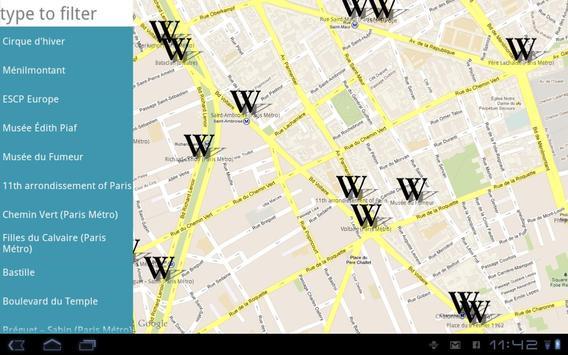 Wikiglob3-Paris apk screenshot