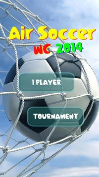 Air Soccer World Cup 2014 poster