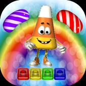 Rainbow Candy Jump icon