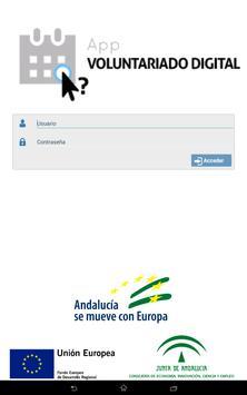 Voluntariado ACD. Gestión AD screenshot 2