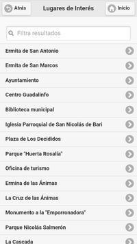 Guía de Alhama de Almería apk screenshot