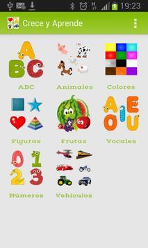 Crece y Aprende para niños screenshot 3