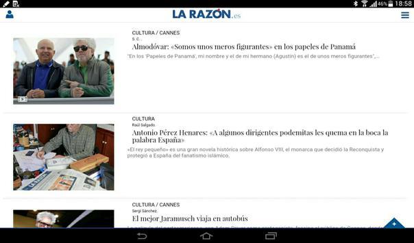 La Razón apk screenshot