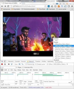 Gwbw Impact o Phaser demo apk screenshot