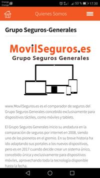 MovilSeguros - Comparador de Seguros screenshot 2