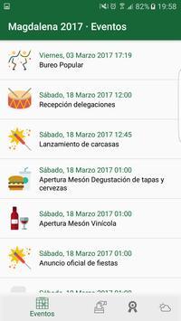 MAG17 - Fiestas Magdalena 2017 screenshot 1