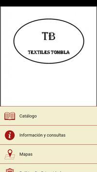 Textiles Tombla poster