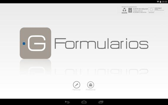 G-Formularios poster
