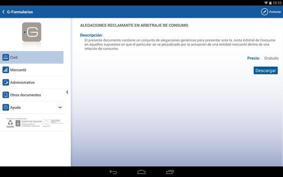 G-Formularios apk screenshot