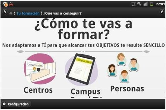 Guía Alumno apk screenshot
