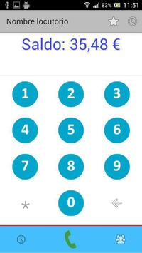App Locutorio screenshot 1