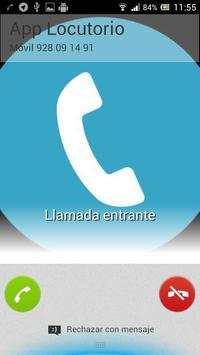 App Locutorio screenshot 2