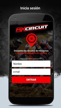 MXcircuit - App Motocross poster