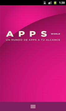 Apps World poster