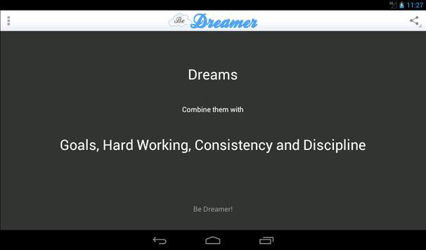 Be Dreamer! Formula of Success apk screenshot