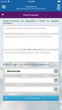 Fuengirola Presupuestos Participativos screenshot 3