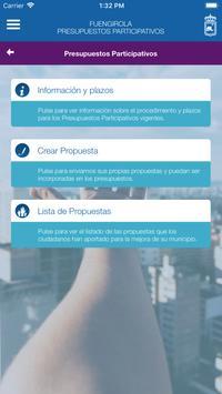 Fuengirola Presupuestos Participativos screenshot 6