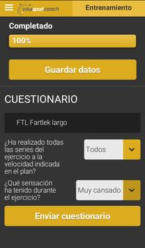 YourSportCoach apk screenshot