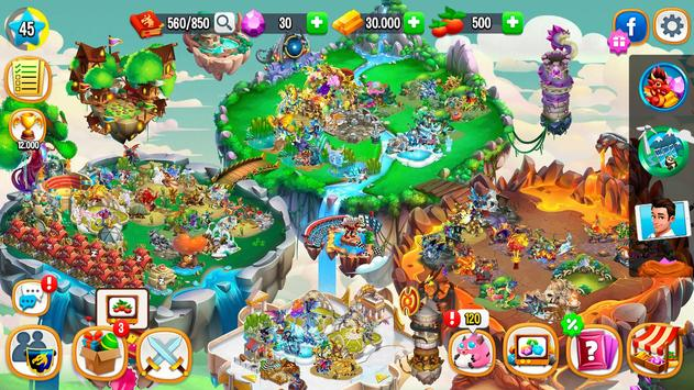 Schermata apk Dragon City