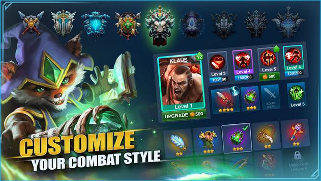 Champions Destiny: MOBA Heroes screenshot 3