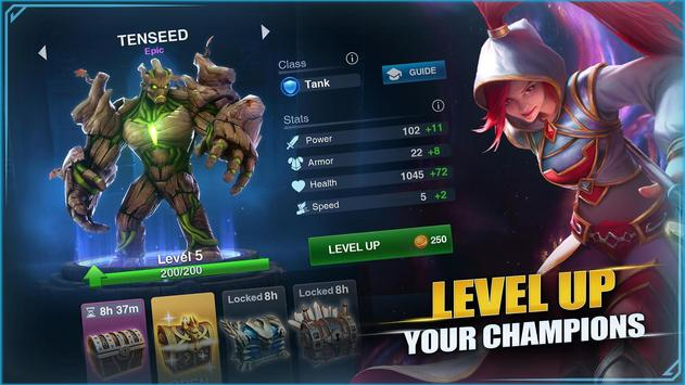 Champions Destiny: MOBA Heroes screenshot 4