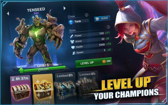 Champions Destiny: MOBA Heroes screenshot 9