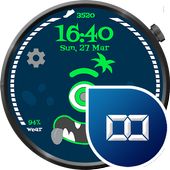 Steps Monster Watch Face icon