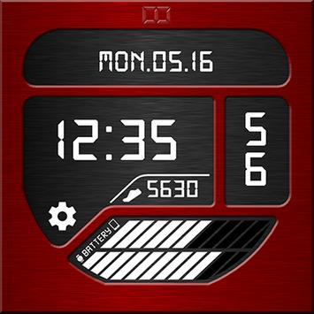 Total Info Watch Face apk screenshot