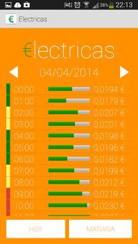 €lectricas (precio de la luz) poster