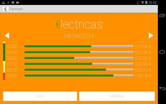 €lectricas (precio de la luz) screenshot 2