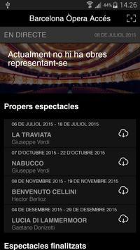 Barcelona Òpera Accés Screenshot 1