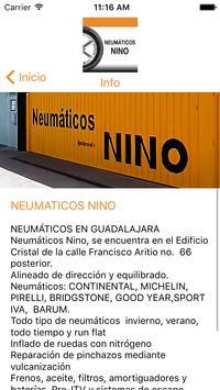 NEUMATICOS NINO apk screenshot