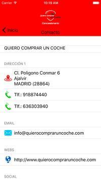 QUIERO COMPRAR UN COCHE apk screenshot
