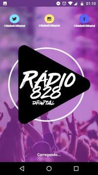 Rádio 828 Digital poster