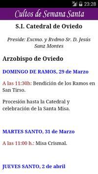 Holy Week in Oviedo-Spain apk screenshot