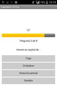 Capitales-Africa screenshot 1