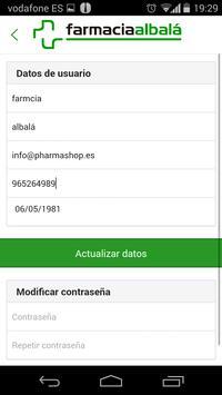 Farmacia Albalá apk screenshot