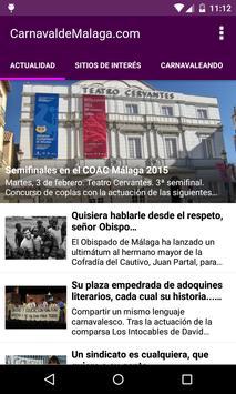 CarnavaldeMalaga.com poster