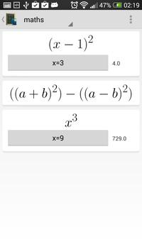 Math Formulas screenshot 3