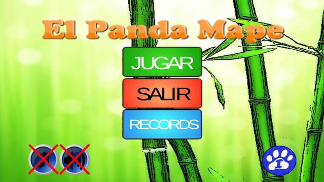 El Panda Mape poster