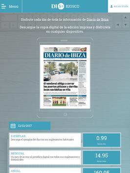 Kiosco Diario de Ibiza ảnh chụp màn hình 2
