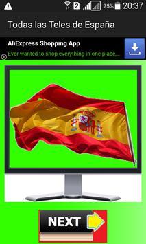 Televisiones de España - Lista poster