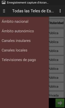 Televisiones de España - Lista screenshot 2