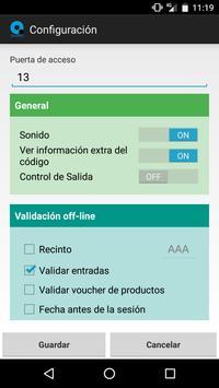 Qwantiq - Control de Acceso screenshot 2