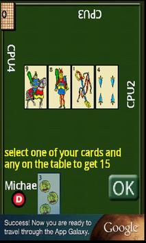 Cards scoba 15 apk screenshot