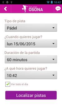 PADEL INDOOR OSONA screenshot 1