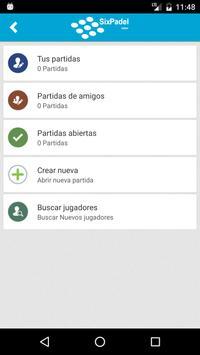 SixPadel apk screenshot